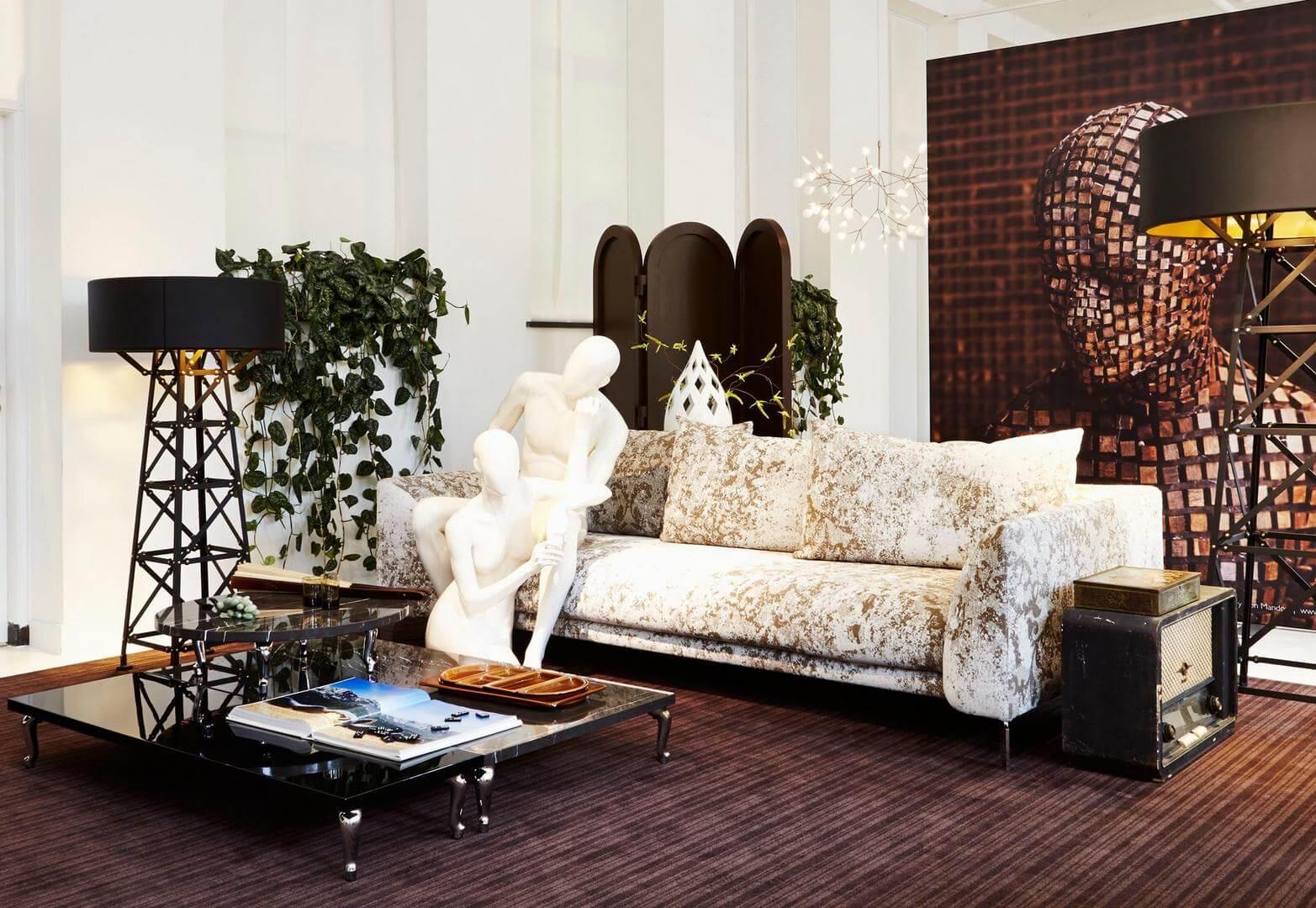 Canvas Sofa