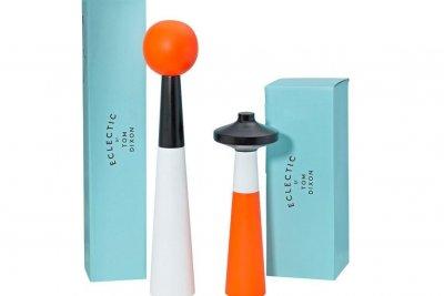 Tower pepper and salt grinder
