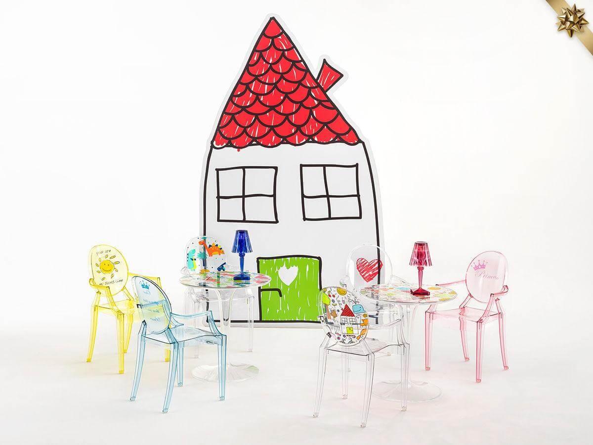Kėdės Vaikams Loulou Ghost Kids