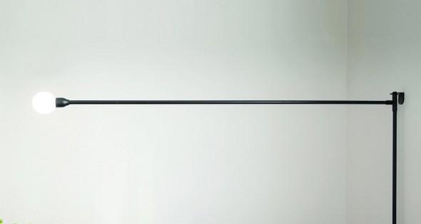 Sieninis šviestuvas POTENCE PIVOTANTE