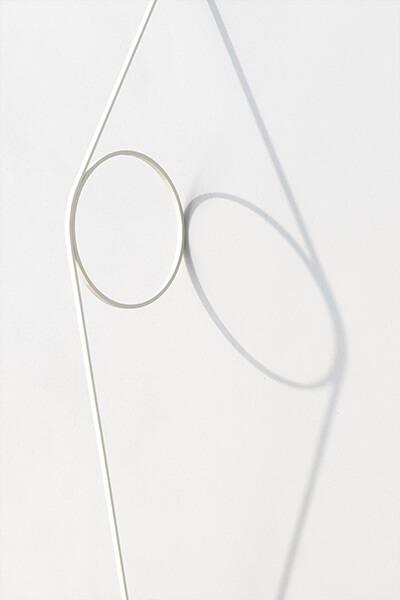 Sieninis šviestuvas Wire Ring