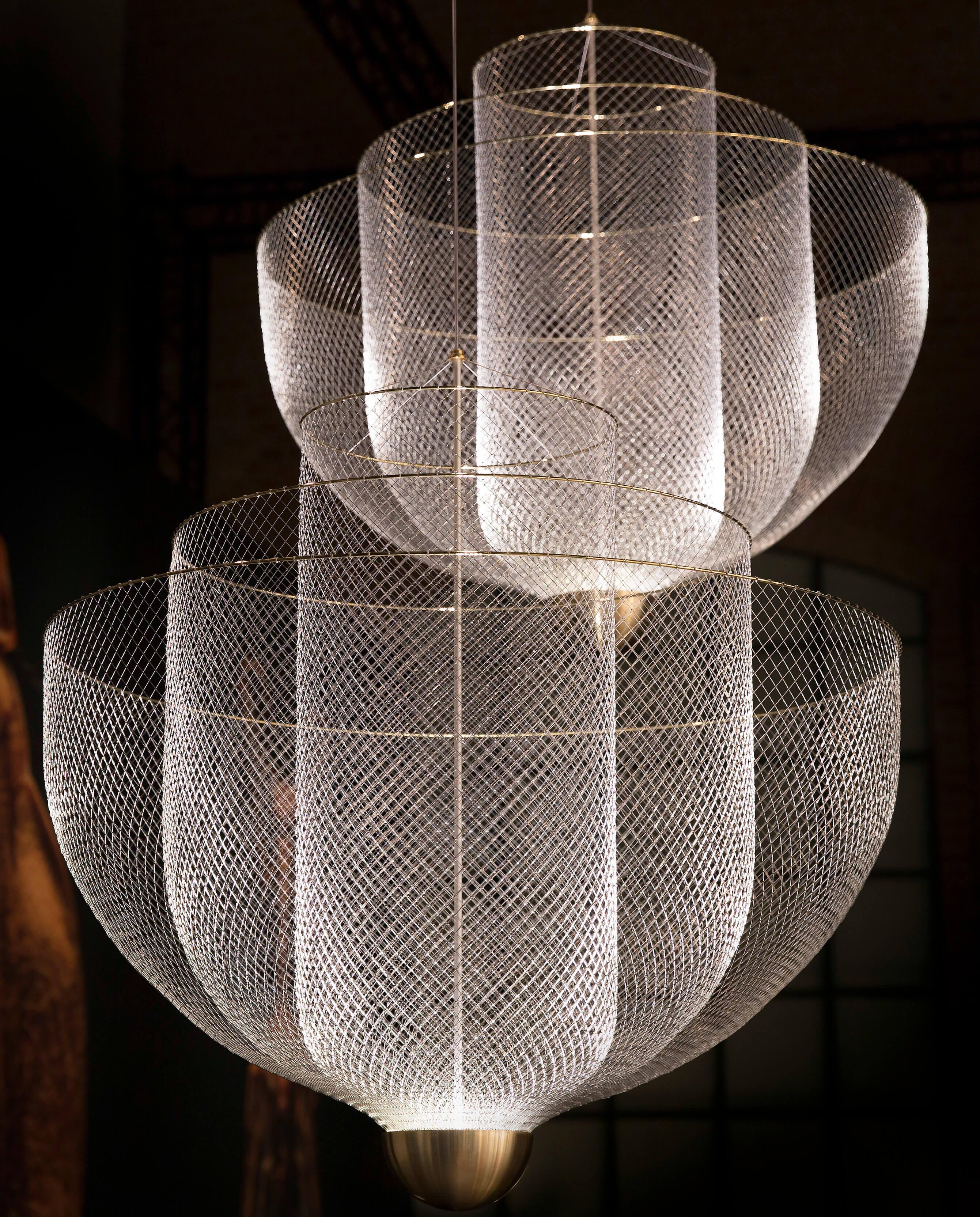 Pakabinamas šviestuvas Meshmatics Chandelier