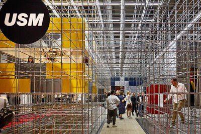 USM tarp geriausių Salone del Mobile 2018 stendų!
