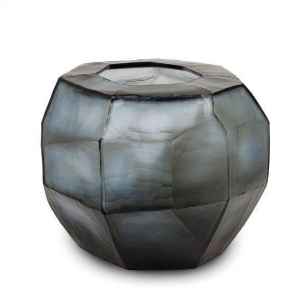 """Guaxs vaza """"Cubistic Round Smoke Grey"""""""