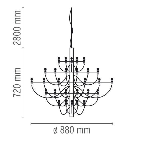 """Flos pakabinamas šviestuvas """"2097/30"""""""