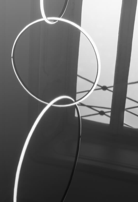"""Flos pakabinamas modulinis šviestuvas """"Arrangement Round Large"""""""