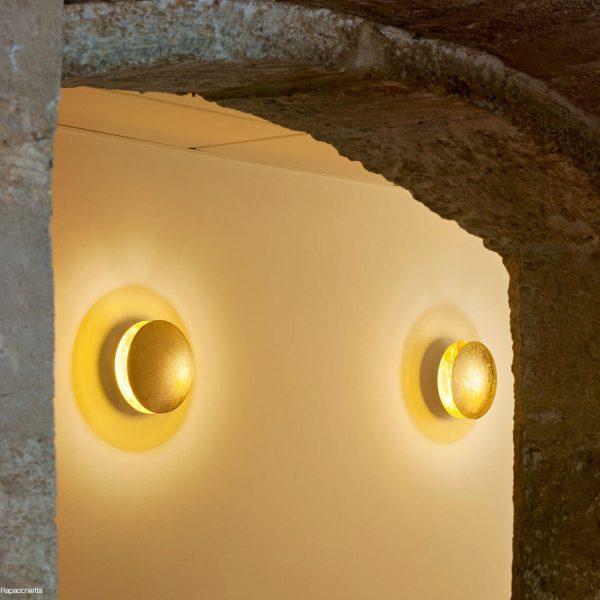 """Catellani & Smith sieninis šviestuvas """"Lederam W"""" 25cm"""