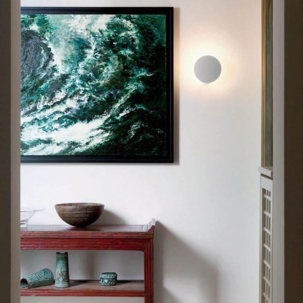 """Catellani & Smith sieninis šviestuvas """"Lederam W1"""" 25cm"""