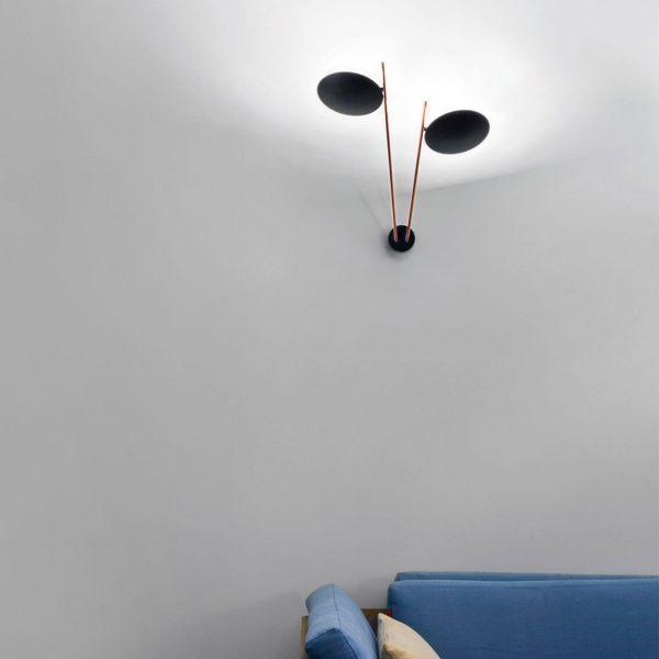 """Catellani & Smith sieninis šviestuvas """"Lederam W2"""""""