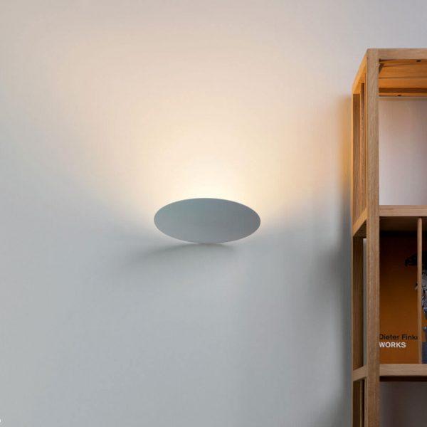 """Catellani & Smith sieninis šviestuvas """"Lederam WF"""" 17cm"""