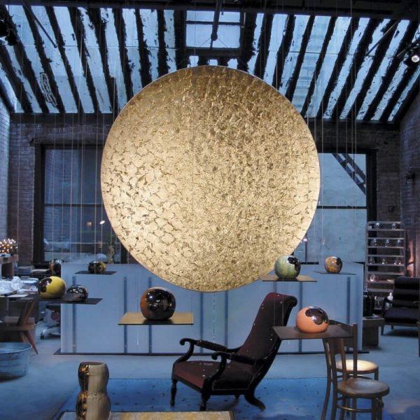 """Catellani & Smith sieninis/lubinis šviestuvas """"Luna Piena"""" 80cm"""