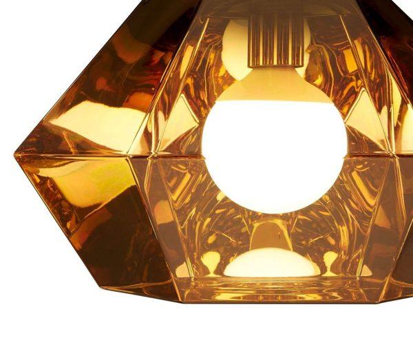 "Tom Dixon pakabinamas šviestuvas ""Cut Short Gold"""