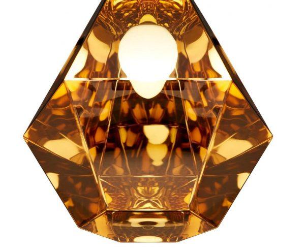 """Tom Dixon pakabinamas šviestuvas """"Cut Tall Gold"""""""