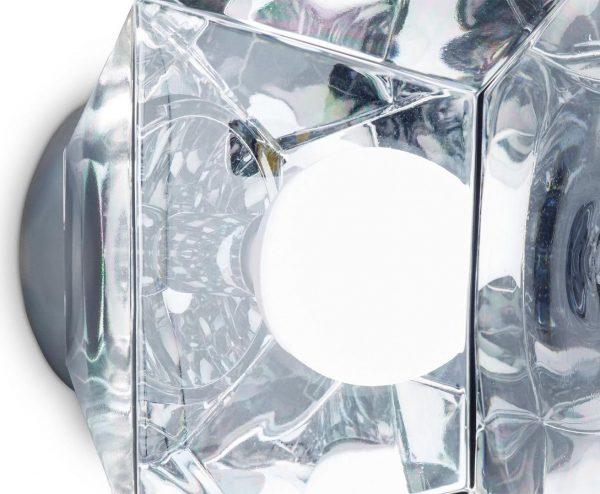 """Tom Dixon sieninis šviestuvas """"Cut Surface Chrome"""" IP44"""