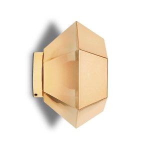 """Tom Dixon sieninis šviestuvas """"Cut Surface Gold"""""""