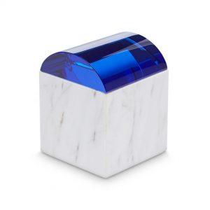 "Tom Dixon marmurinė dėžutė ""Lid Curve"""