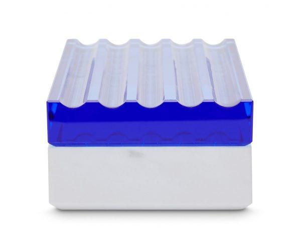 "Tom Dixon marmurinė dėžutė ""Lid Scallop"""