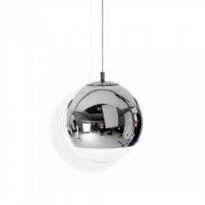 "Tom Dixon pakabinamas šviestuvas ""Mirror Ball Chrome"""