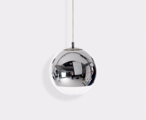 """Tom Dixon pakabinamas šviestuvas """"Mirror Ball Chrome"""""""