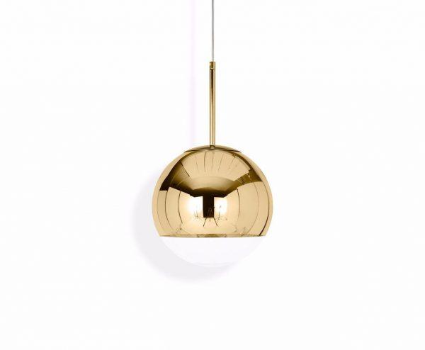 """Tom Dixon pakabinamas šviestuvas """"Mirror Ball Gold"""""""