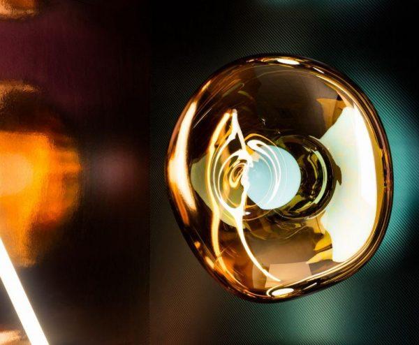 "Tom Dixon sieninis šviestuvas ""Melt Copper"""