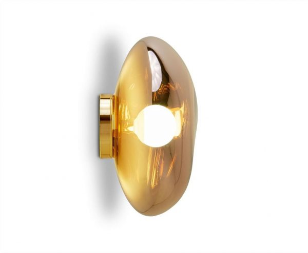 "Tom Dixon sieninis šviestuvas ""Melt Gold"""