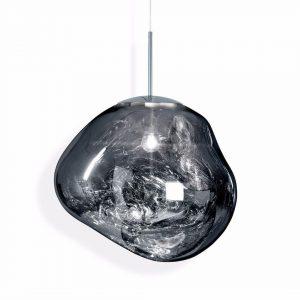"""Tom Dixon pakabinamas šviestuvas """"Melt Chrome"""" 50cm"""