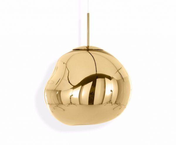 "Tom Dixon pakabinamas šviestuvas ""Melt Gold"" 50cm"