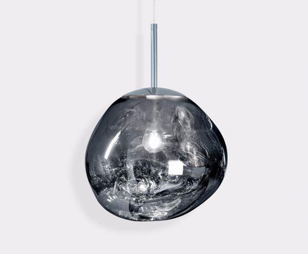 """Tom Dixon pakabinamas šviestuvas """"Melt Mini Chrome"""""""