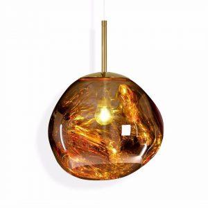 """Tom Dixon pakabinamas šviestuvas """"Melt Mini Gold"""""""