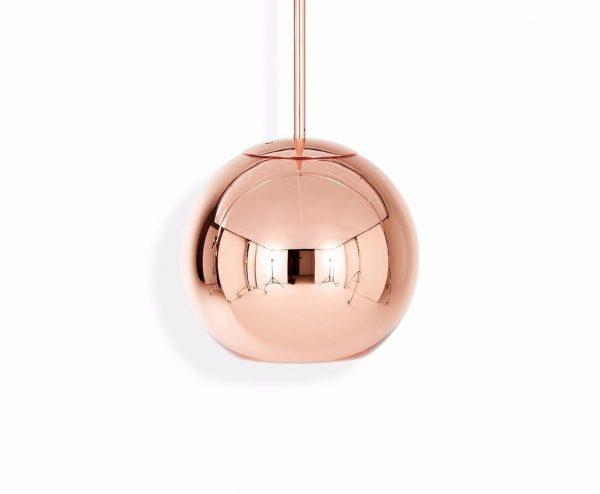"""Tom Dixon pakabinamas šviestuvas """"Copper Round"""""""