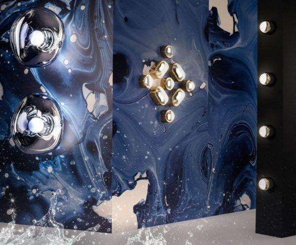 "Tom Dixon sieninis šviestuvas ""Spot Obround Black"" IP44"