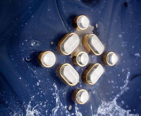 """Tom Dixon sieninis šviestuvas """"Spot Obround Copper"""" IP44"""