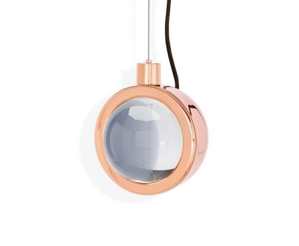 """Tom Dixon pakabinamas šviestuvas """"Spot Round Copper"""""""
