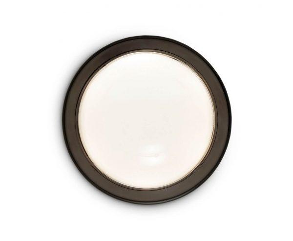 """Tom Dixon sieninis šviestuvas """"Spot Round Black"""" IP44"""