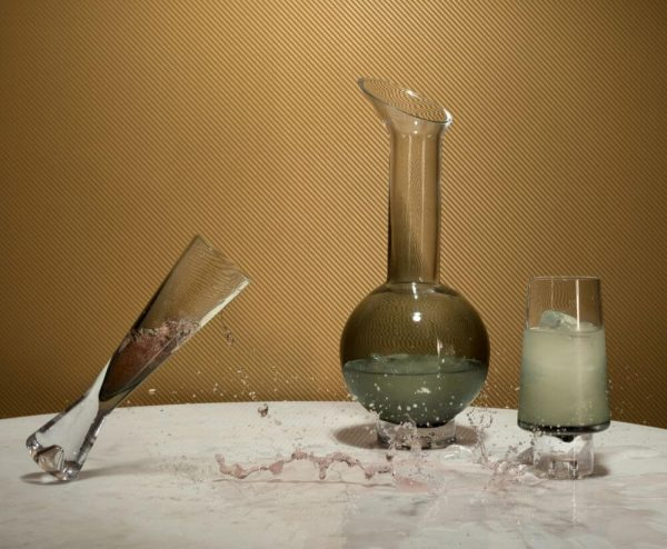 "Tom Dixon šampano taurės ""Tank"" 2 vnt."