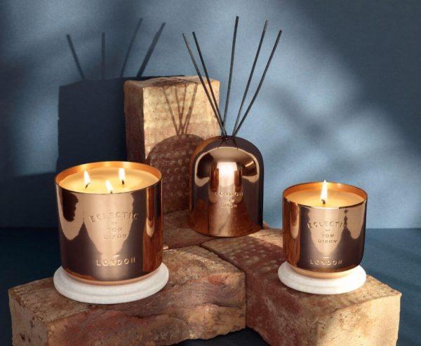 "Tom Dixon didelė žvakė ""Eclectic London"""