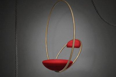 """Pakabinama kėdė Le Broom ,,Hanging hoop chair"""""""